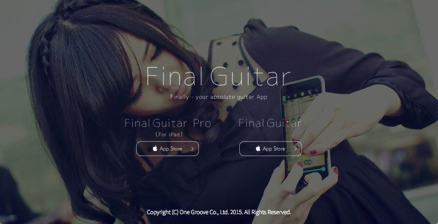 ギターアプリ Final Guitar