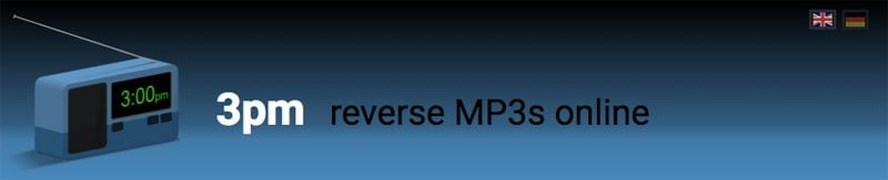 MP3/OGG/WAV の逆再生・速度変換 - 3pm