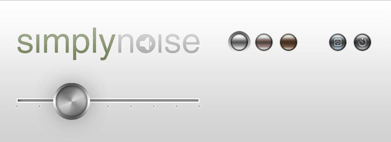 3種のノイズで作業に集中 - SimplyNoise