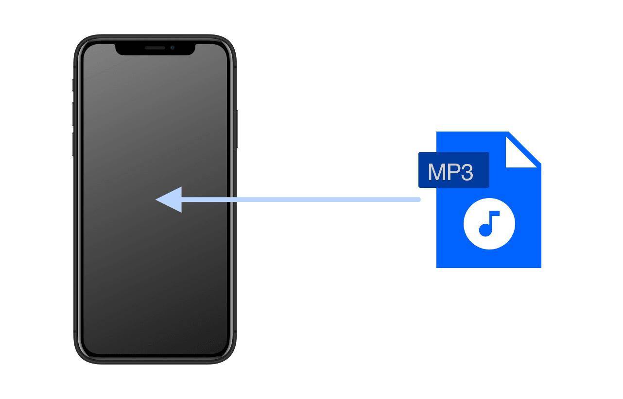 iPhoneにMP3をダウンロードして再生する方法